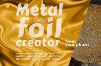 Metal foil creator — Mockup 5553421 4