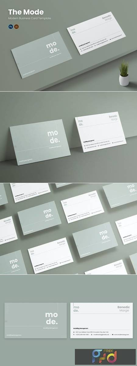 Mode Management Business Card VJ7JQDK 1