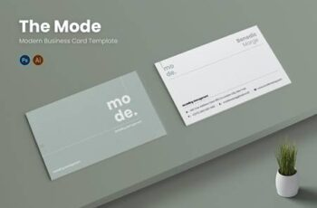 Mode Management Business Card VJ7JQDK 13