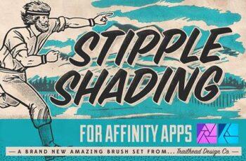 Stipple Shading Brushes for Affinity 4680212 6