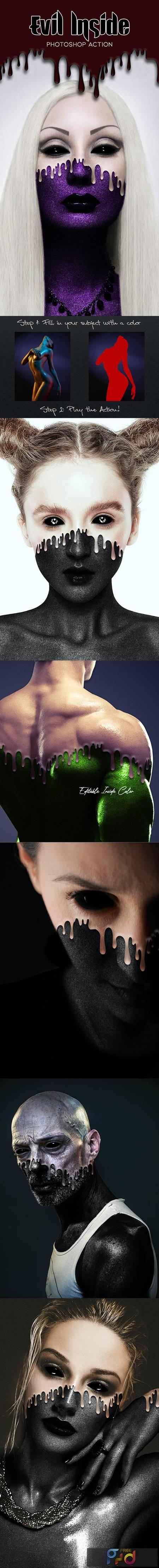 Evil Inside Photoshop Action 28915513 1