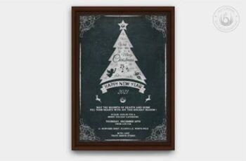 Christmas Invitation Template V5 6916132 5
