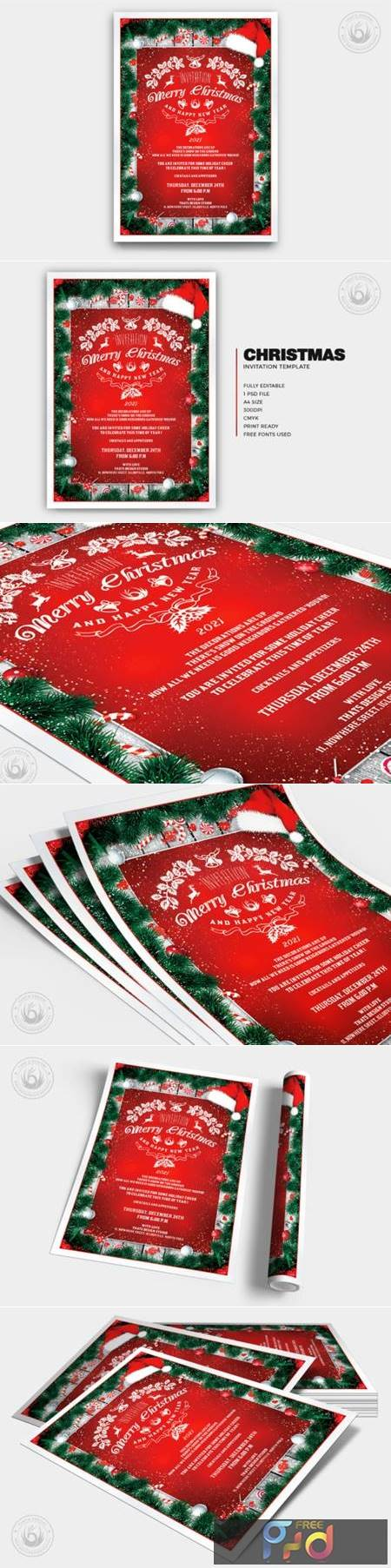 Christmas Invitation Template V6 6918968 1