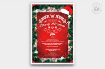 Christmas Invitation Template V6 6918968 8
