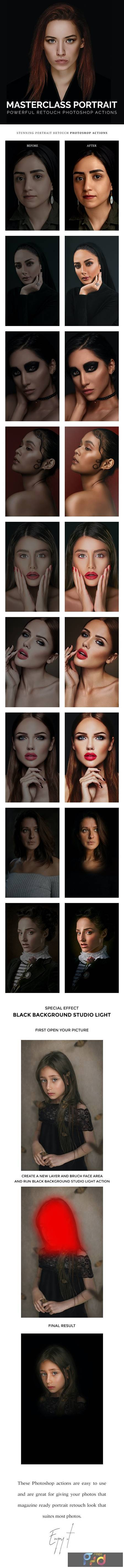 Masterclass Portrait Photoshop Actions 28940112 1