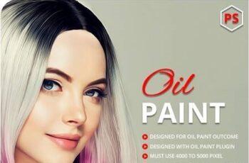 Oil Art Photoshop Action 28917188 4