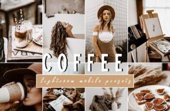 Warm COFFEE Modern Lightroom Presets 4806705 6