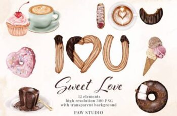 Sweet Love - Valentines Day Clipart 6771389 7