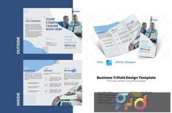 Business Trifold Brochure Template 4894005 6