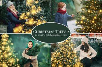 Christmas Trees photo overlays 5636334 2