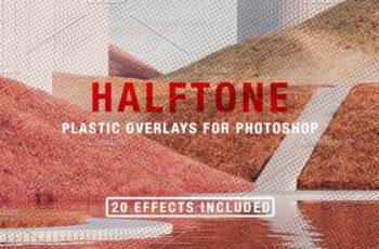 Halftone + Plastic Overlays 5598574 16