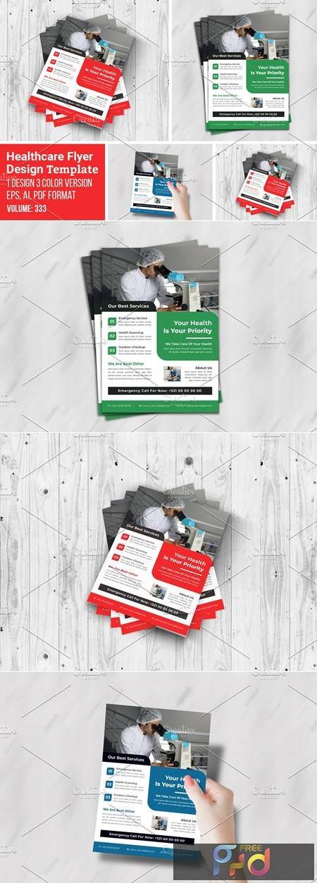 Creative Flyer For Medical Template 5547059 1