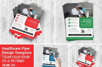 Creative Flyer For Medical Template 5547059 6