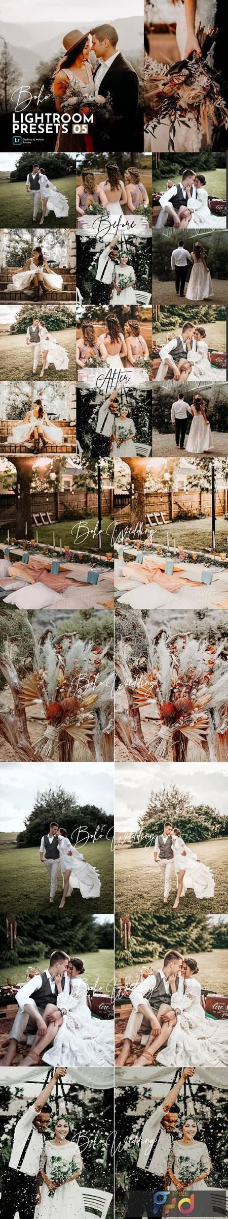 Boho Wedding Lightroom Presets Pack 5463743 1
