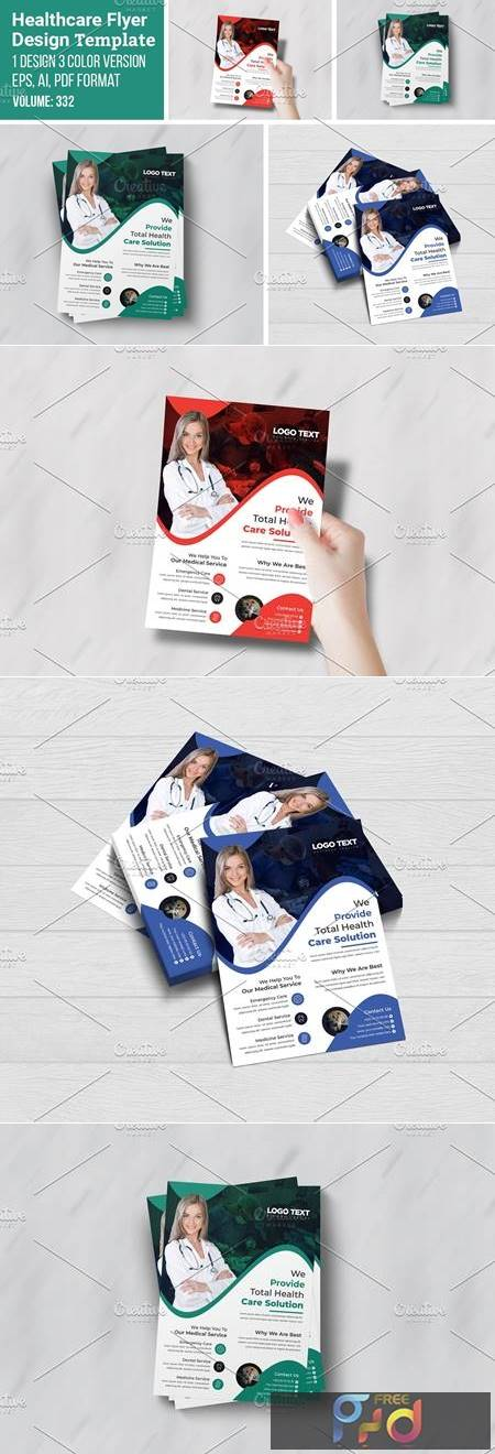 Health Care Services Flyer Template 5546961 1