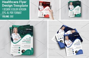 Health Care Services Flyer Template 5546961 5