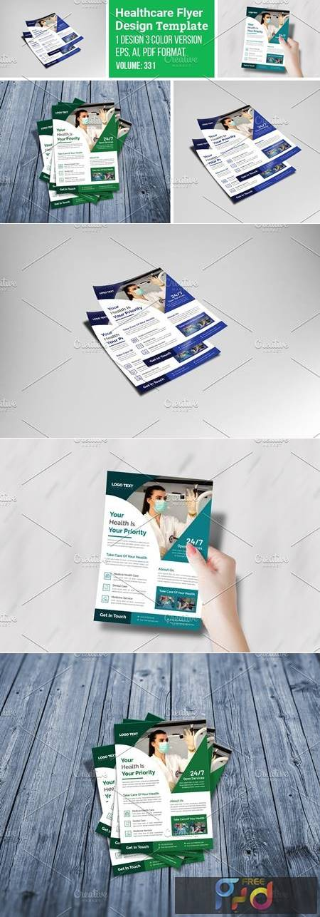 Medical & Healthcare Flyer Template 5546912 1