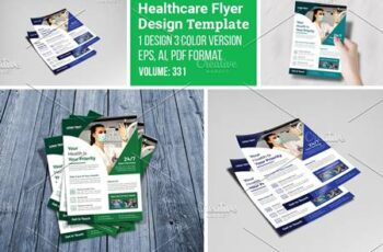 Medical & Healthcare Flyer Template 5546912 3