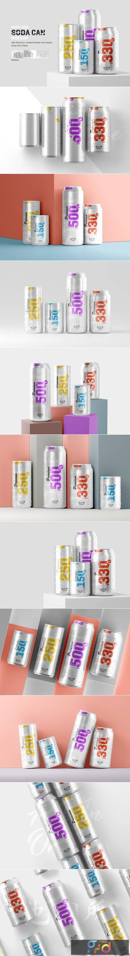 Multisize Soda Can Mockup 5664176 1