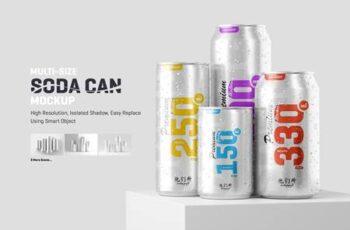 Multisize Soda Can Mockup 5664176 3