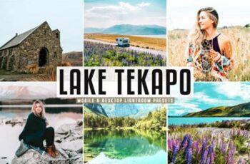 Lake Tekapo Pro Lightroom Presets 6949560 6