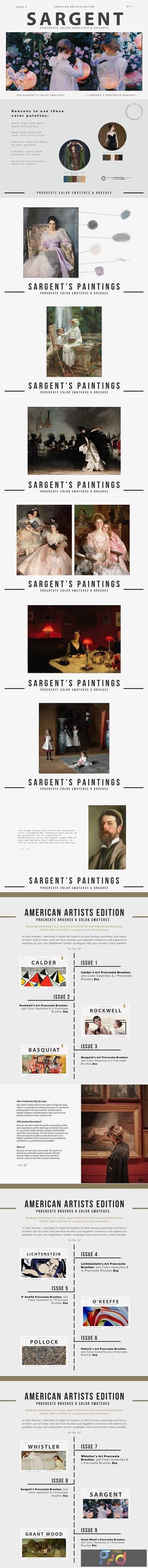 Sargents Art Procreate Brushes 5586457 1