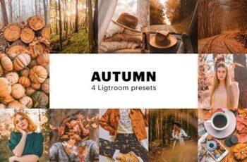 4 Autumn Lightroom Presets 5627655 5
