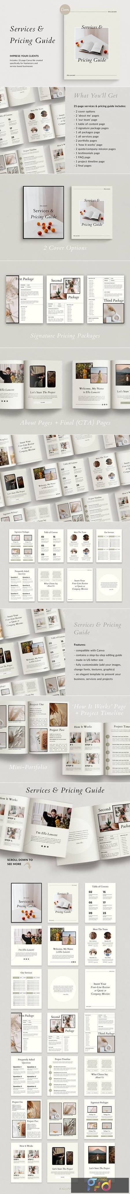 Services & Pricing Guide - Canva 4985290 1