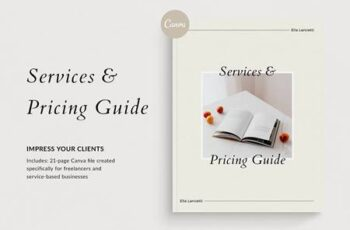 Services & Pricing Guide - Canva 4985290 2