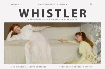 Whistlers Art Procreate Brushes 5578232 7