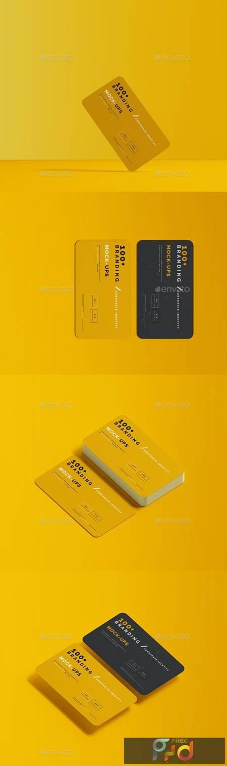 Rounded Corner Business Card Mockups 29605683 1