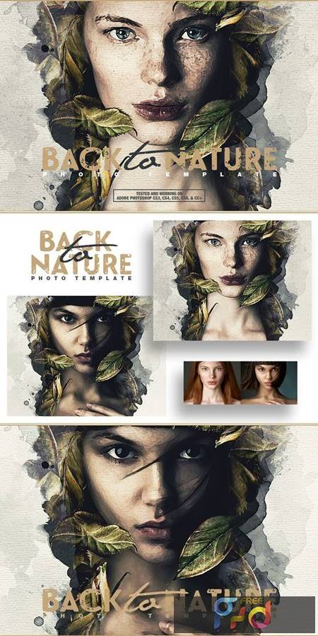Back To Nature Photo Template 4998428 1