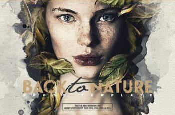 Back To Nature Photo Template 4998428 7