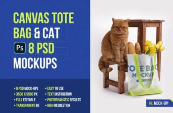 Canvas Tote Bag Mockups Vol 2 5336858 6
