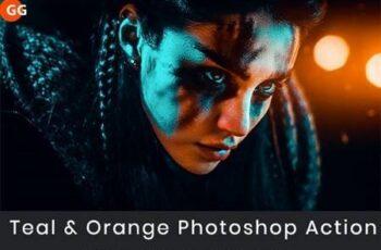 Teal & Orange Photoshop Action 28975559 2
