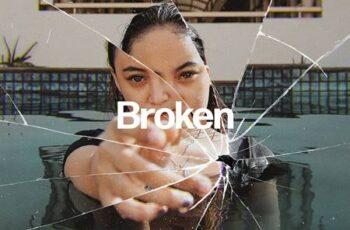 Broken Glass Photo Effect 5671746 7