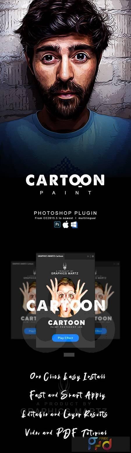 Cartoon Paint Photoshop Plugin 29101533 1