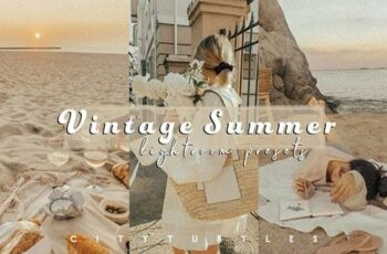 Grainy VINTAGE SUMMER Film Presets 5452867 4