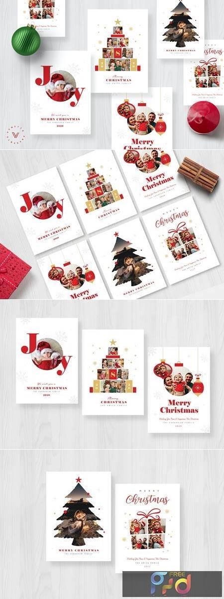 Christmas Photo Card - Holiday Card WLT6E3F 1