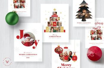 Christmas Photo Card - Holiday Card WLT6E3F 9