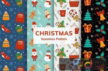 Christmas Seamless Pattern 9B3Z9HA 16