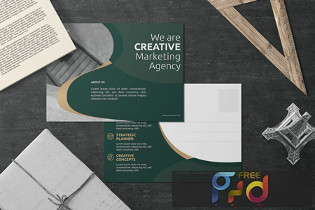Creative And Innovative - Postcard Design P4U65XW 1