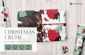 Christmas Crush Abstract Patterns 5613076 10