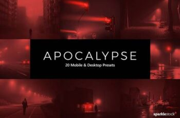 20 Apocalypse LR Presets and LUTs 5436510 6