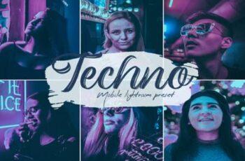 Techno Lightroom Presets 6823464 6