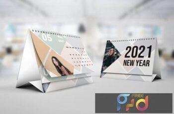 Tile Calendar 2021 - Calendar Template U9X8GJB 3