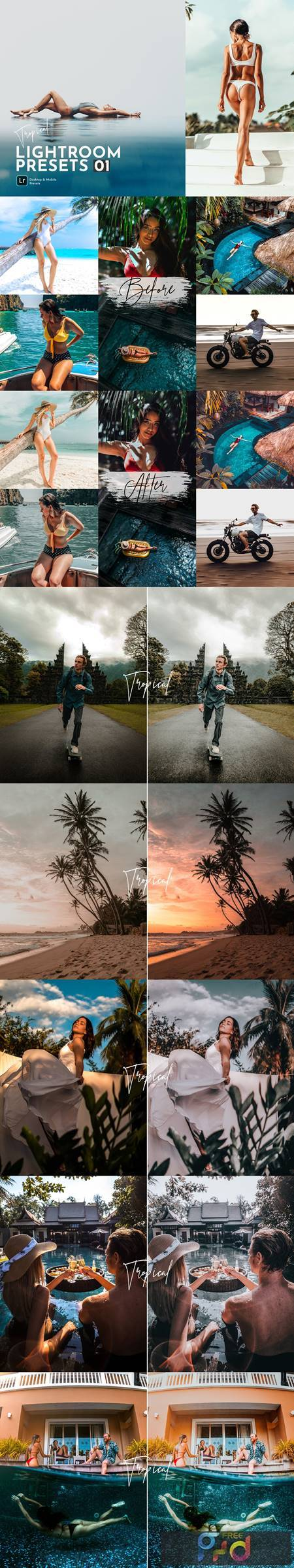 Tropical Lightroom Presets Pack 5469399 1