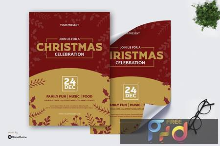 Christmas Celebration - Poster AS HVLPKVL 1