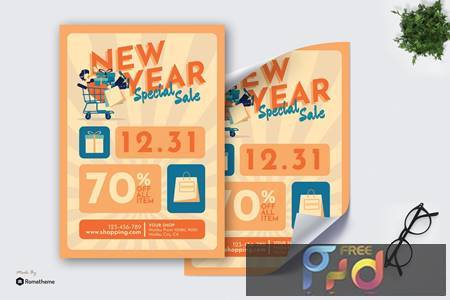 New Year Special Sale - Poster GR K6Z565P 1