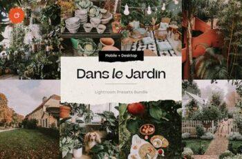 8 Jardin Lightroom Presets 5419247 3